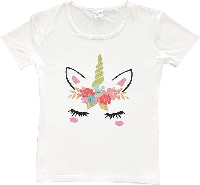 Amazon.com: Camiseta de unicornio, regalos de unicornio para ...