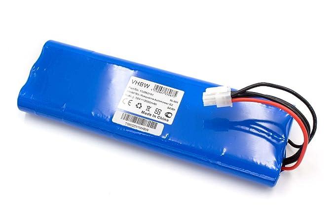 vhbw NiMH batería 3000mAh (18V) para cortacésped Robot cortacésped ...