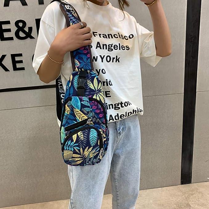 Amazon.com: Bolsas de hombro unisex con estampado de flores ...