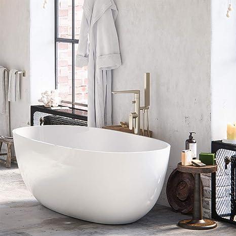 MAYKKE Barnet Acrylic Bathtub