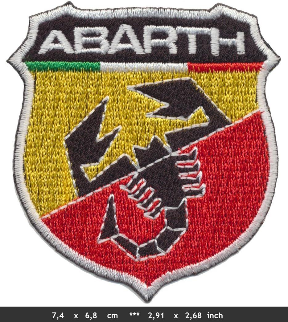 per Fiat Lancia Italia Abarth Patches Toppa da Cucire con Ferro da Stiro