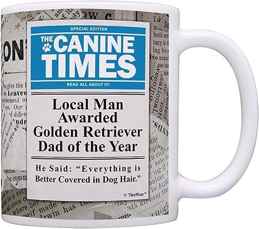Golden Retriever Hair Gift Coffee Mug