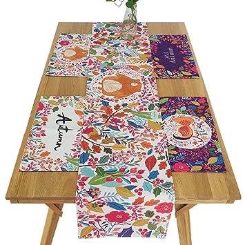Multi-Table Caminos de Mesa Table Cloth Manteles algodón y Lino Mantel Mueble de TV