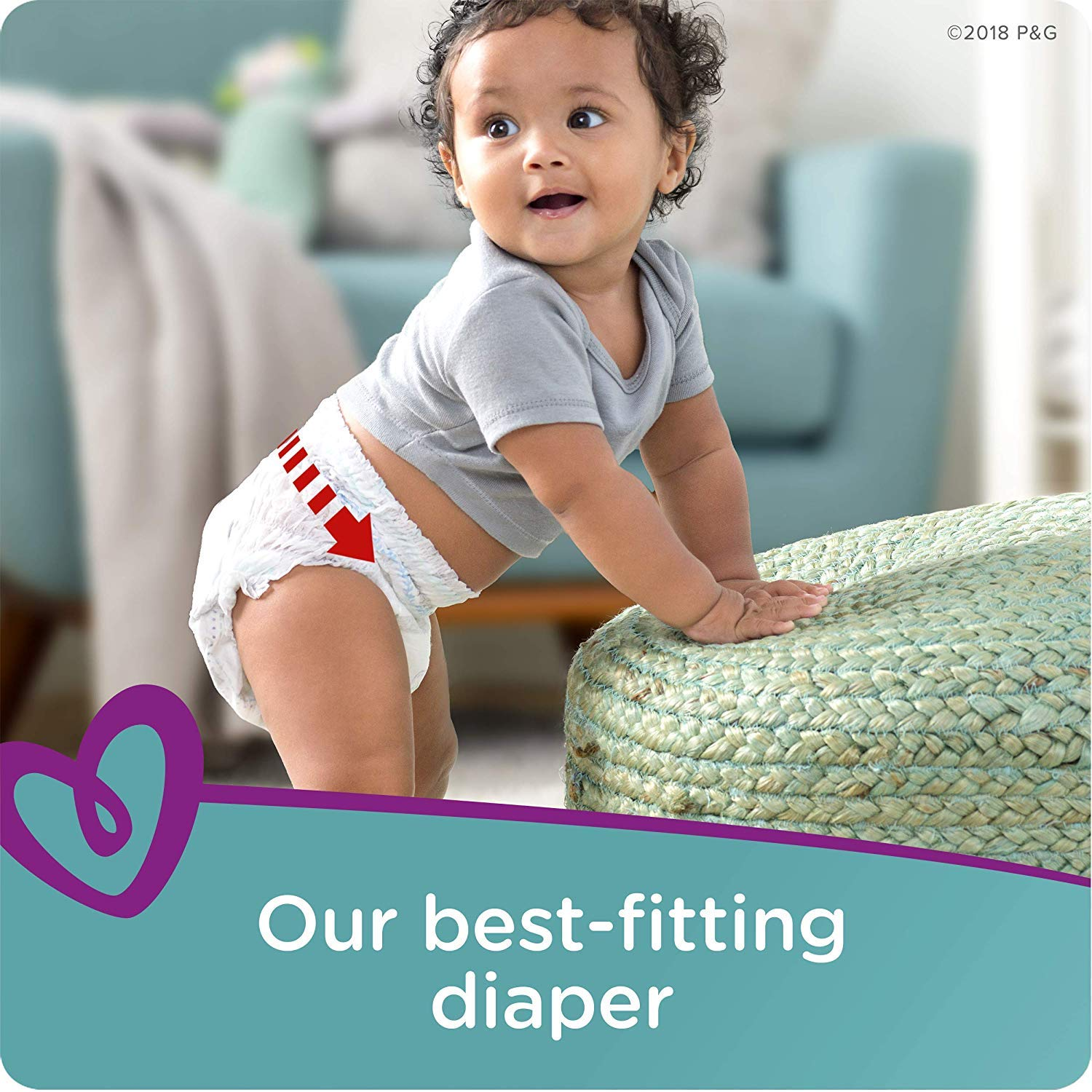 336 Count Cruisers 360˚ Fit Disposable Baby Diapers with Stretchy Waistband Pampers Pull On Diapers Size 3 156 Count ONE Month Supply with Baby Wipes Sensitive 6X Pop-Top Packs