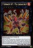 Yu-Gi-Oh! - Number 61: Volcasaurus (PGL3-EN073) - Premium Gold: Infinite Gold - 1st Edition - Gold Rare
