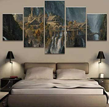 bedroom oil paintings – liamdecor.co