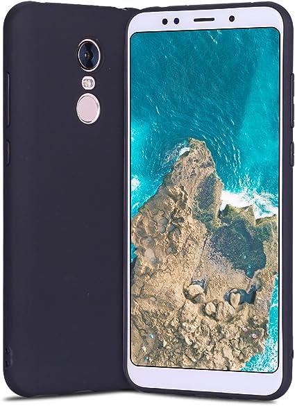 RosyHeart Funda Xiaomi Redmi 5 Plus, Suave Opaco Gel Silicona TPU ...
