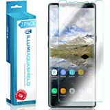 Galaxy Note 8 Screen Protector (Case Friendly Version) [2-Pack] [Not Glass] ILLUMI AquaShield Full Coverage Screen Protector for Samsung Galaxy Note 8 Wet Applied HD Clear [Bubble Free]