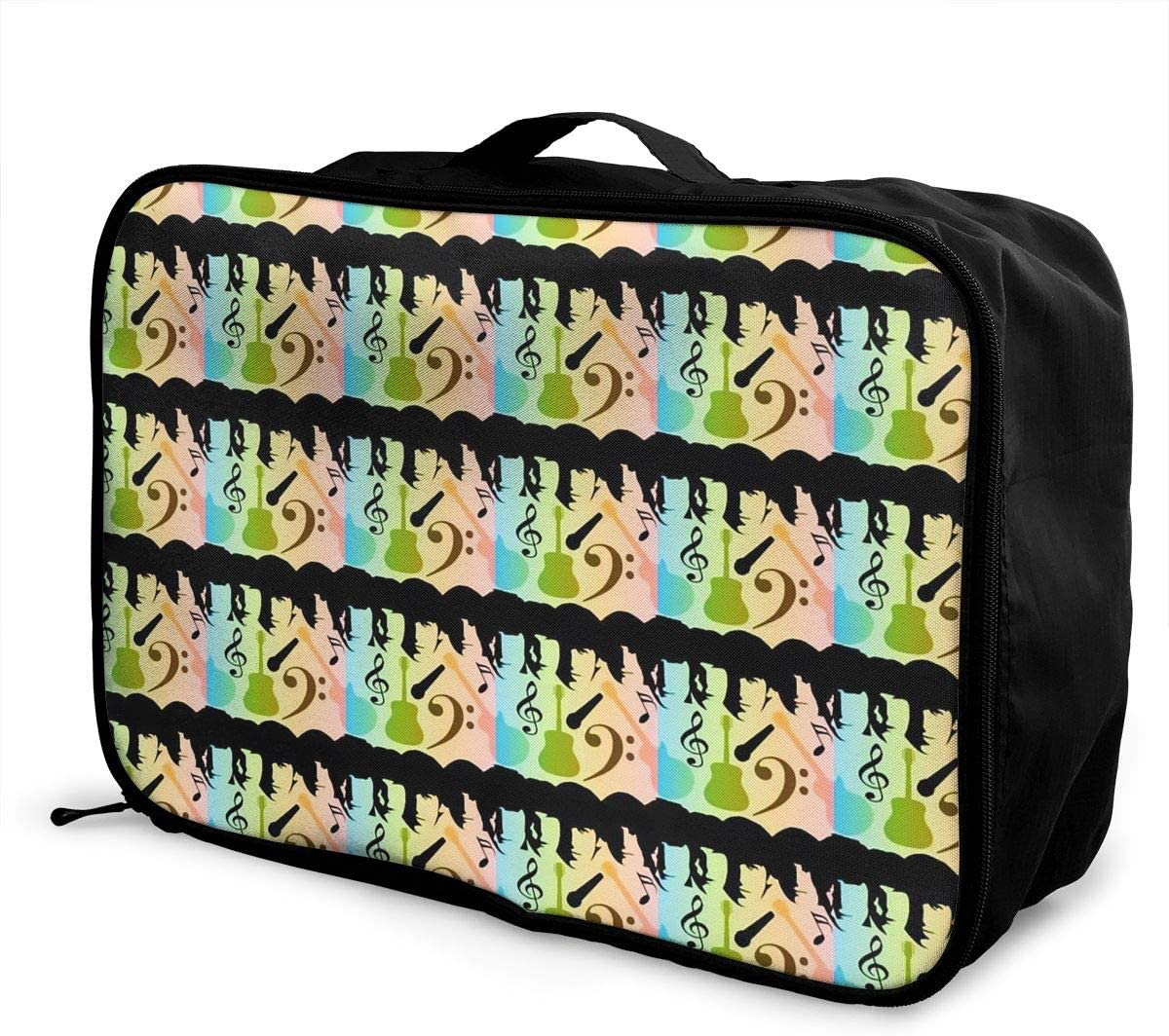 JTRVW Luggage Bags for Travel Portable Luggage Duffel Bag Galaxy Travel Bags Carry-on in Trolley Handle