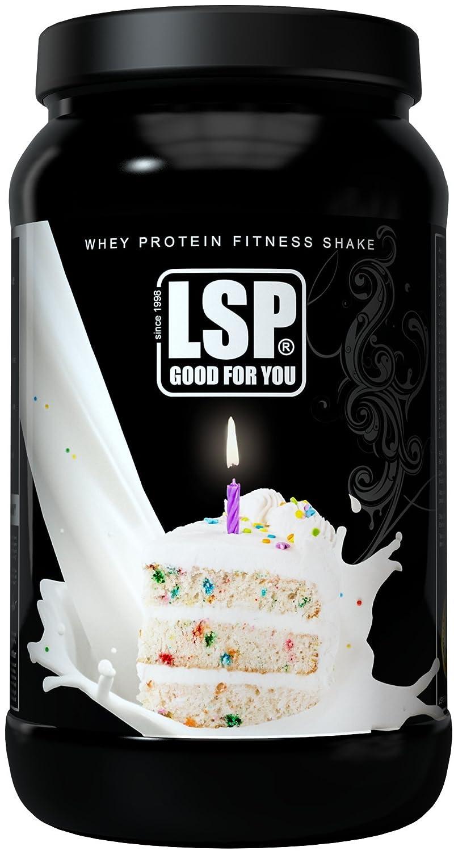 WHEY PROTEIN FITNESS SHAKE Birthday Cake 600g Amazonde Drogerie Korperpflege
