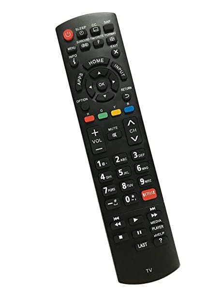b02d3cd85 Amazon.com: Replacement Remote Controller use for TC-L32X5 TC-50PU54  TC-L65E60 TC-50CX600 TC-60PU54 Panasonic HD TVs: Home Audio & Theater