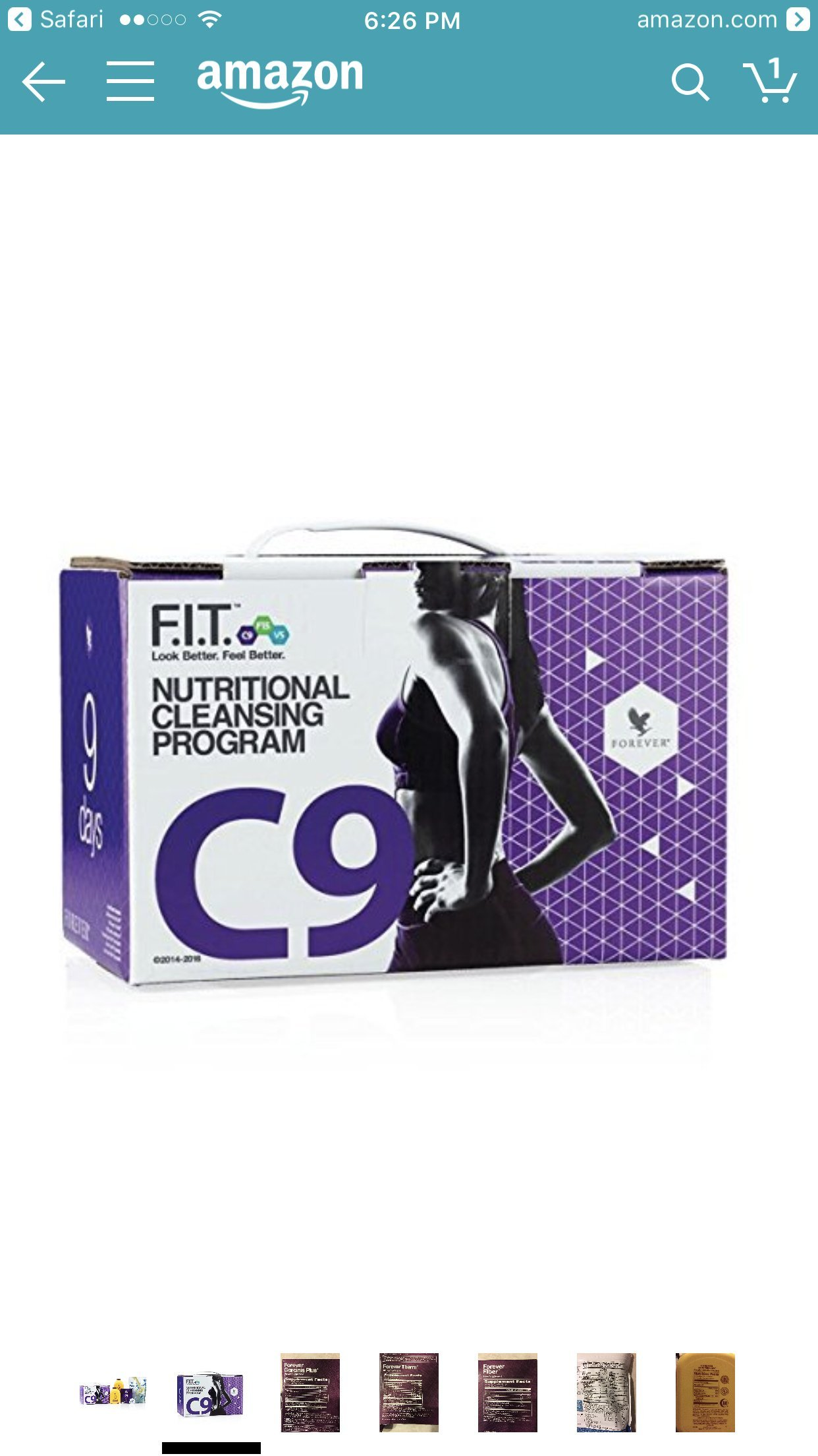 Forever Living Clean 9 (New C9) Natural Weight Loss + Cleanse Programme by Forever Living