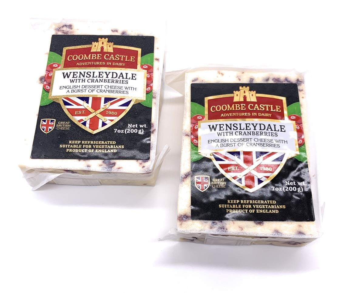 Wensleydale with Cranberries (14 Oz)