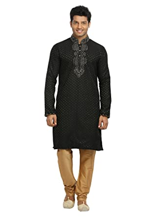 Amazon Saris And Things Black Indian Wedding Kurta Pajama
