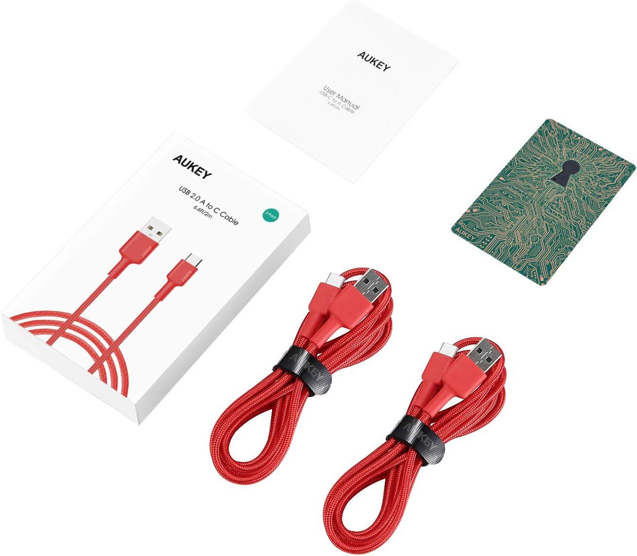 Google Pixel HTC 10 Huawei P10 AUKEY USB C Kabel Typ C Kabel fr ...