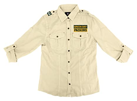 Image Unavailable. Image not available for. Color  NFL Green Bay Packers  Women s Linen Field Shirt 4af0c70e8