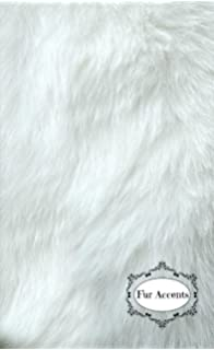 Fur Accents Classic Rectangle Sheepskin Area Rug Plush Premium Shag Faux Fur  (5u0027x8