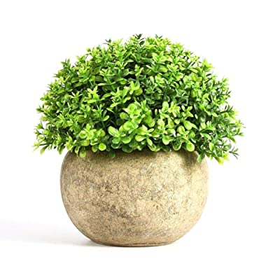 Artificial Plant Bonsai Decoration Flower Grass Small Decoration Ball Pot Home: Musical Instruments