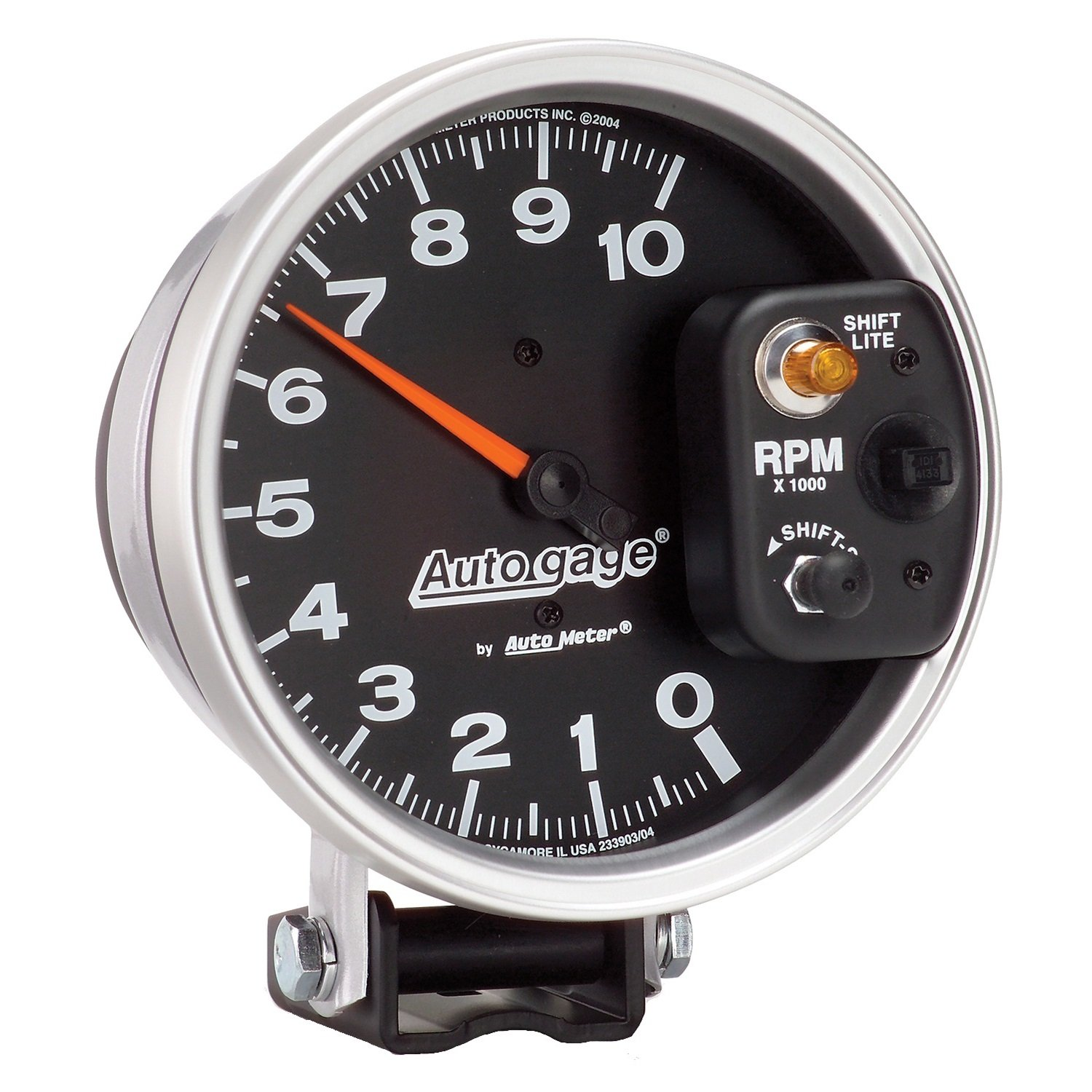 Amazon.com: Auto Meter 233903 Autogage Monster Shift-Lite Tachometer:  Automotive