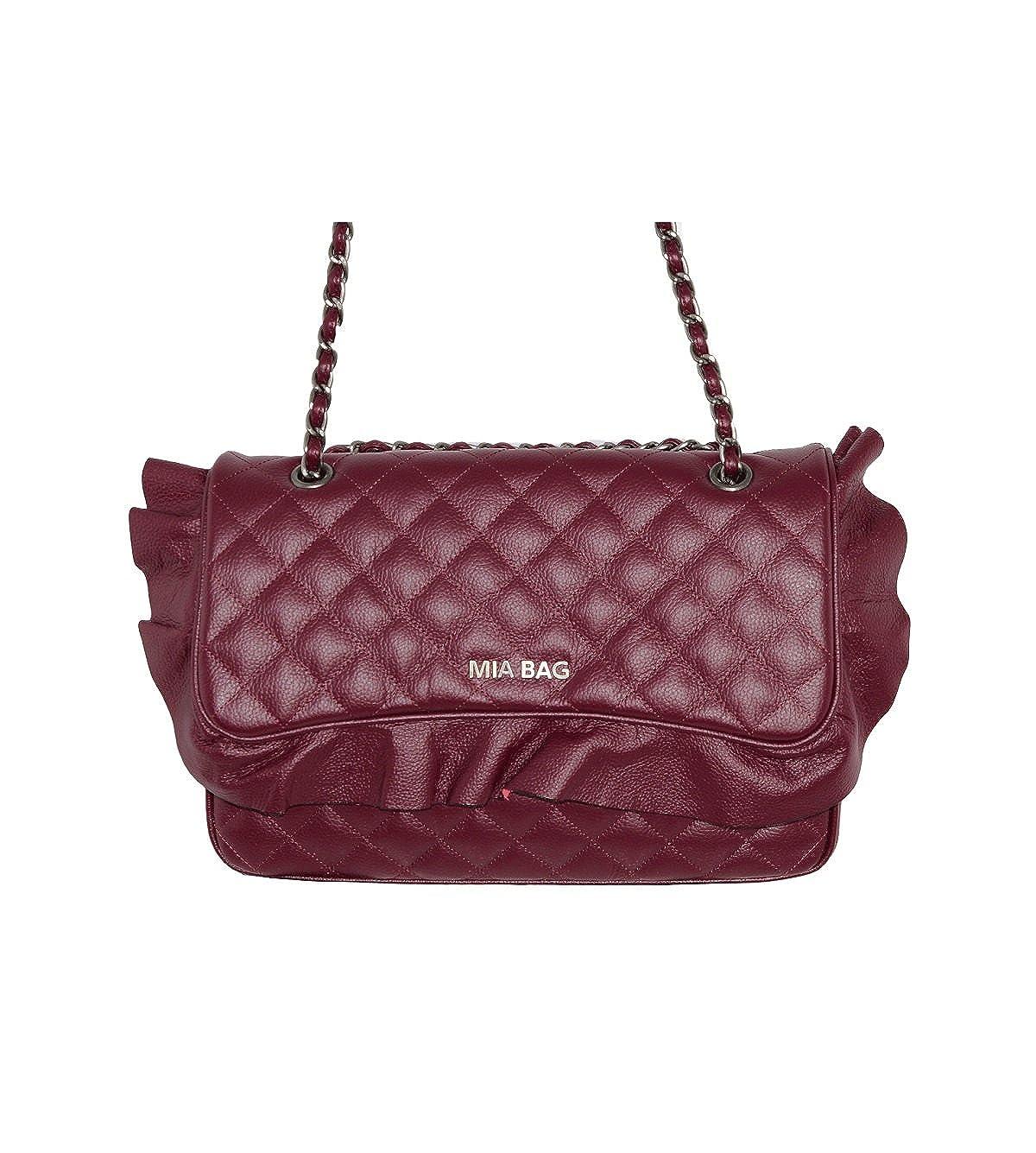 4a9efe24cc Portafoglio Mia Bag leather con patches oro cod.17320: Amazon.it:  Abbigliamento