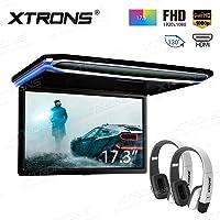 XTRONS 17,3pulgadas 16: 9ultrafina FHD Digital Monitor
