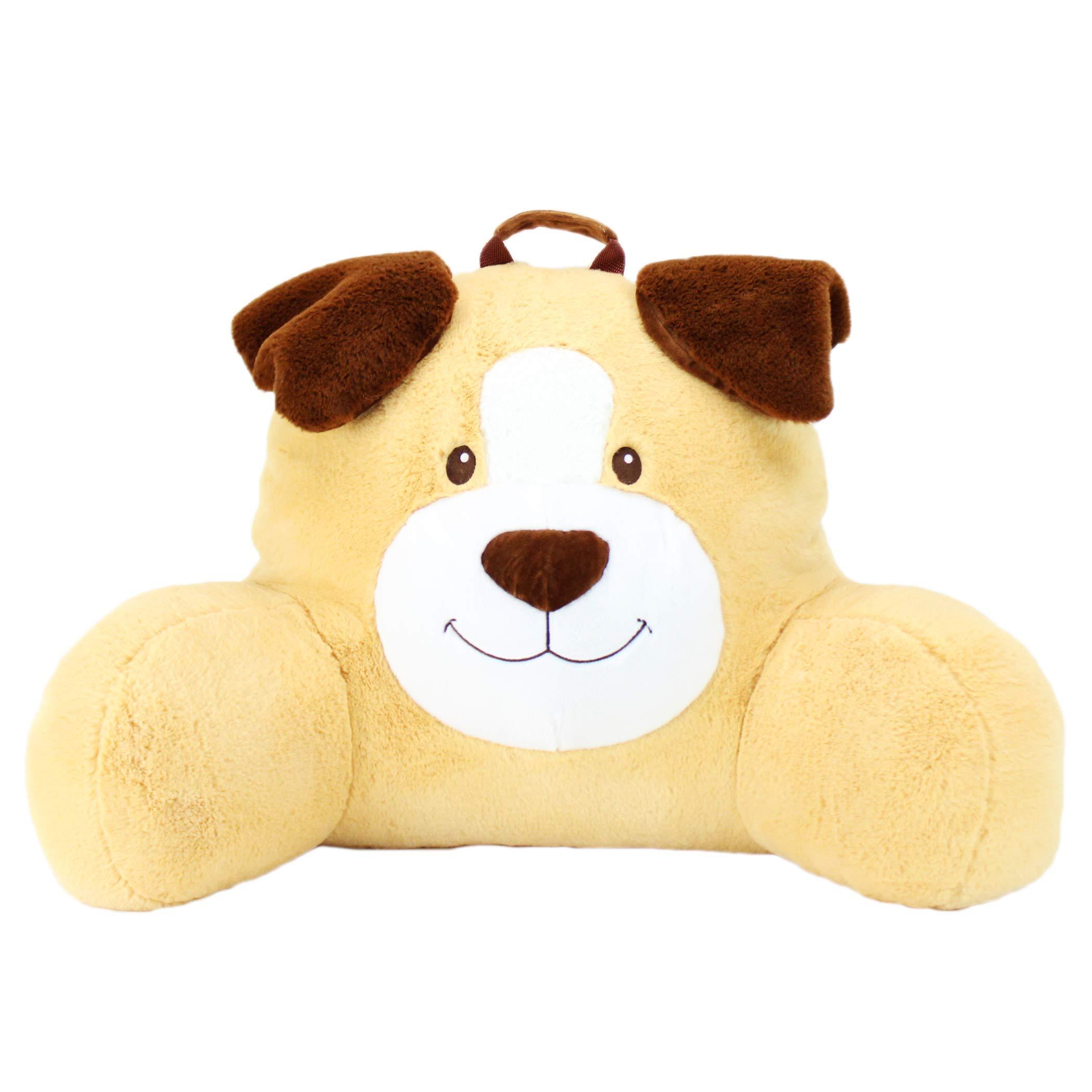 Sweet Seats Face Cushion Dog Plush Character Pillow, Buttercup, 14'' x 26'' x 16''