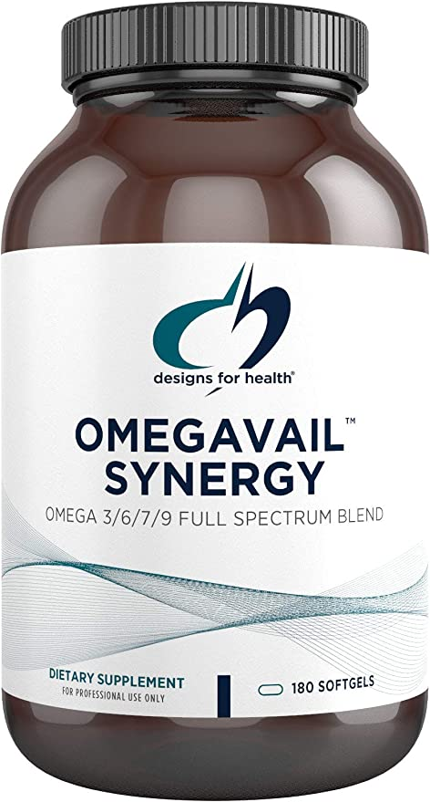 Amazon Com Designs For Health Omegavail Synergy Omega 3 6 7 9