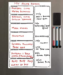 Lifekrafts Magnetic White Board Sheet - Dry, Erase  Can Be