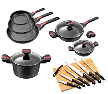 Pradel Excellence Gamme Luxe Volna Batterie De Cuisine 15 Pieces fabd56f69063