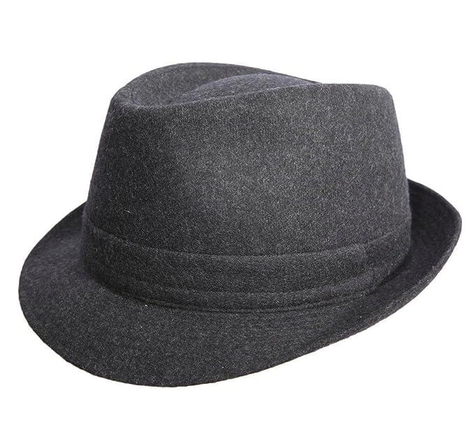 3d78e72a744 Classic Italy - Trilby Hat wool felt men Classic Trilby Feutre   Amazon.co.uk  Clothing