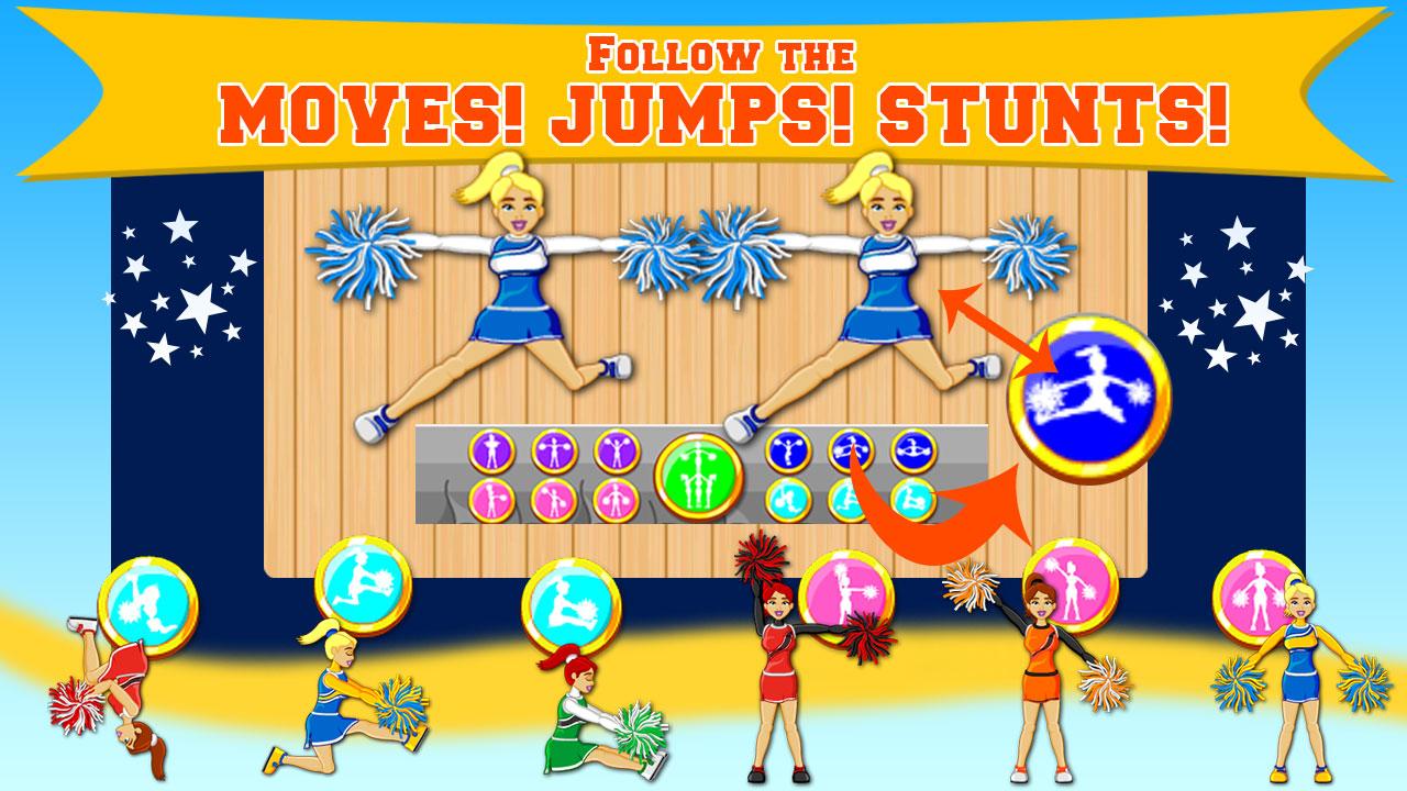 Play High School Cheerleader online on GamesGames