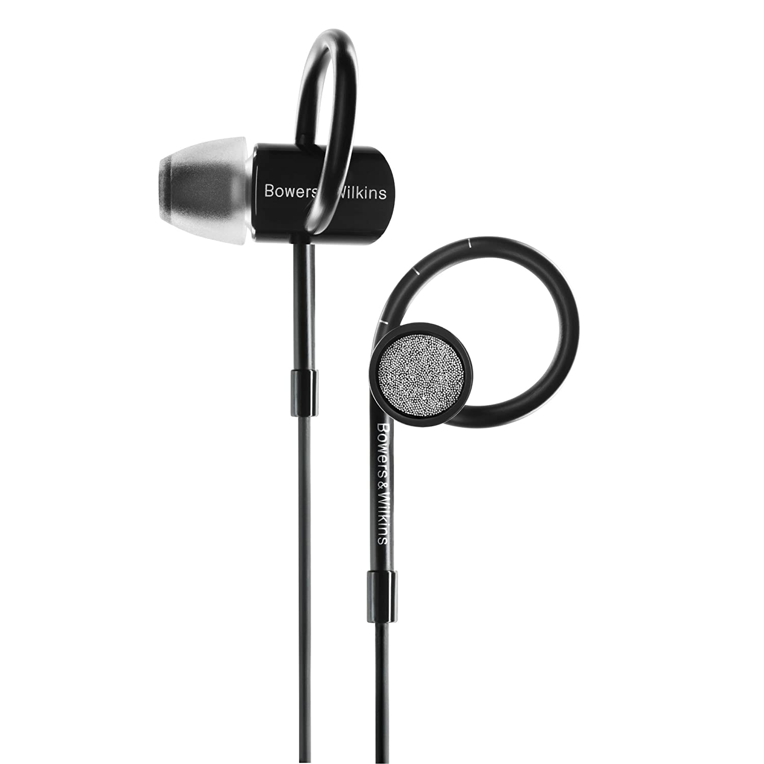 bowers andamp wilkins logo. amazon.com: bowers \u0026 wilkins c5 series 2 in-ear headphones, secure fit, black: home audio theater andamp logo