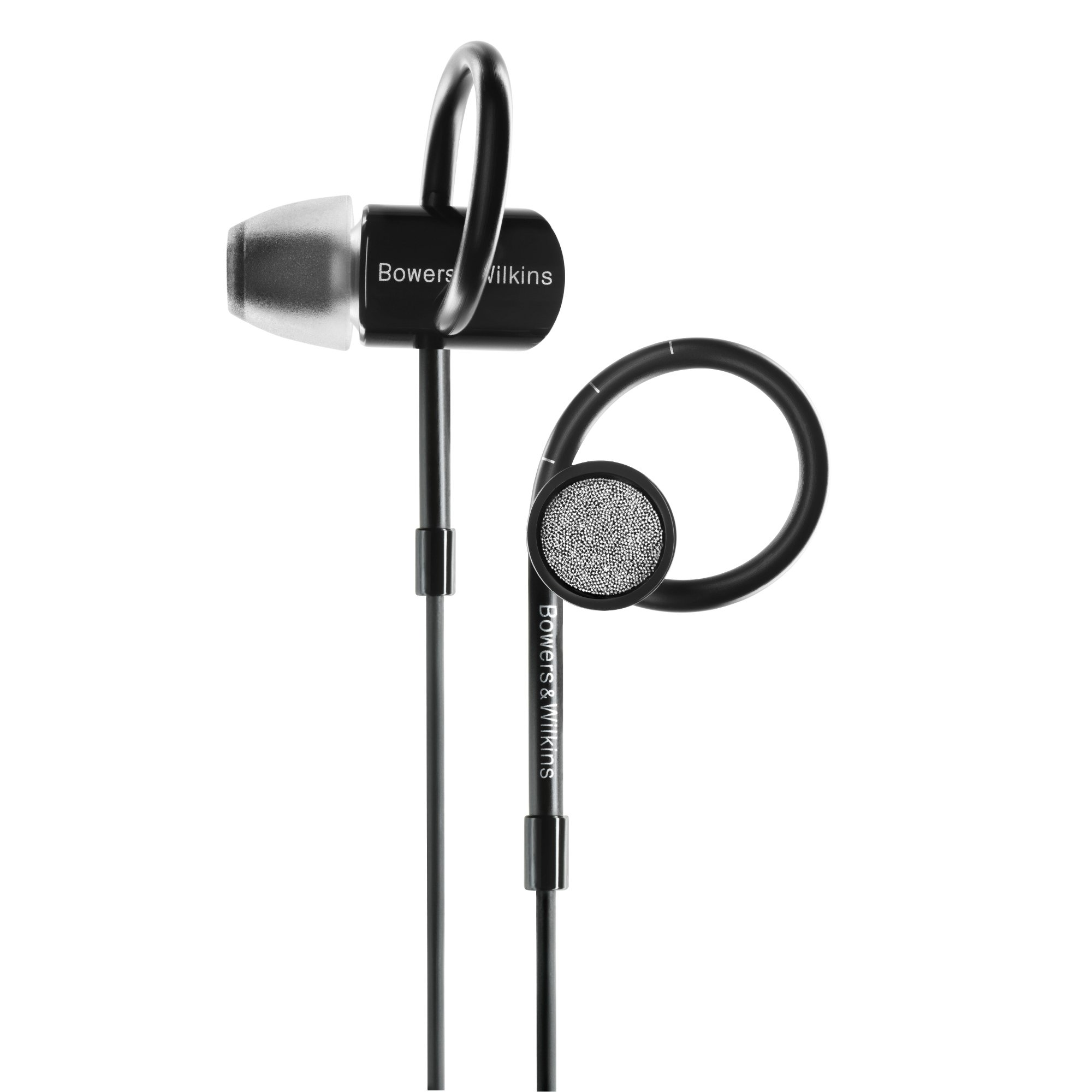 Bowers & Wilkins C5 Series 2 In-Ear Headphones, Secure Fit, Black by Bowers & Wilkins