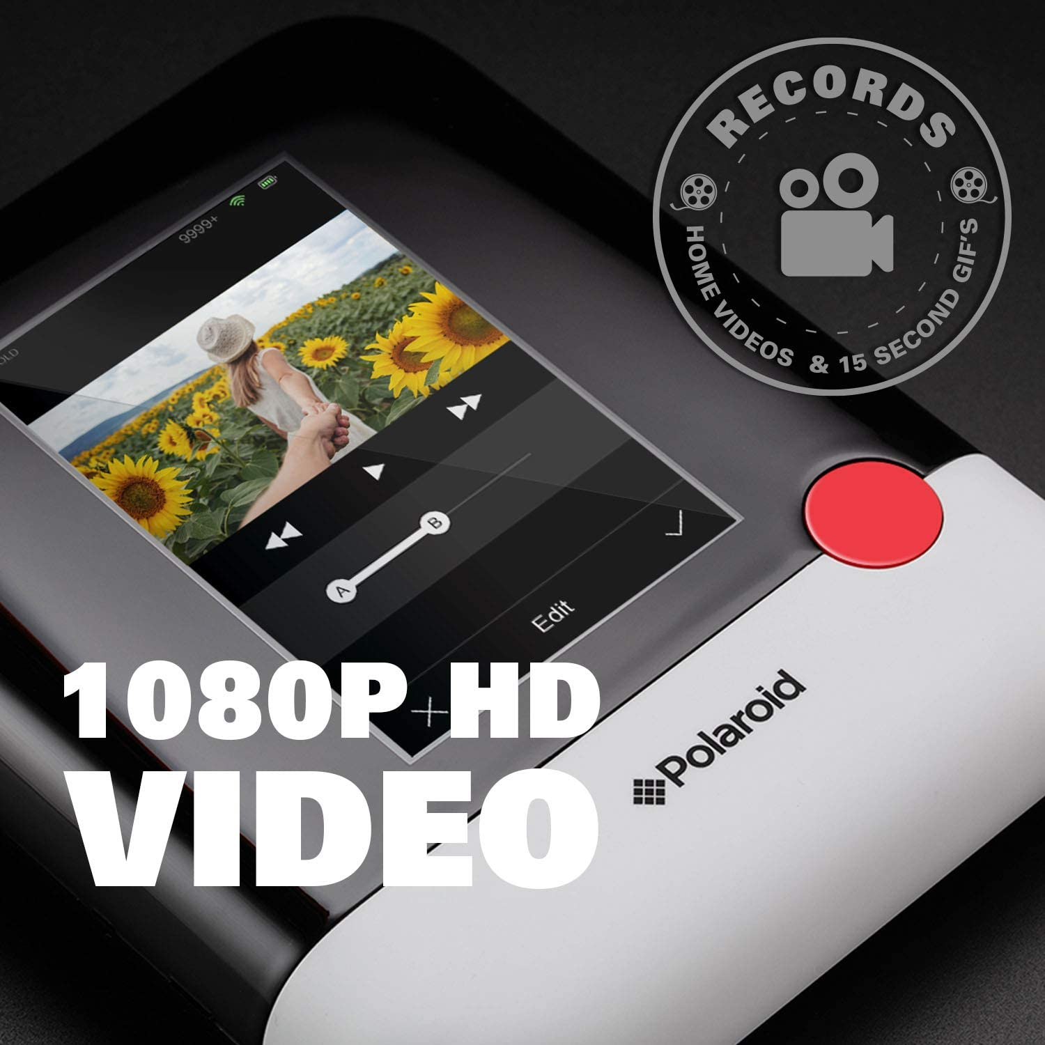 Zink Polaroid Pop 2.0 Portable Photo and Video Printer