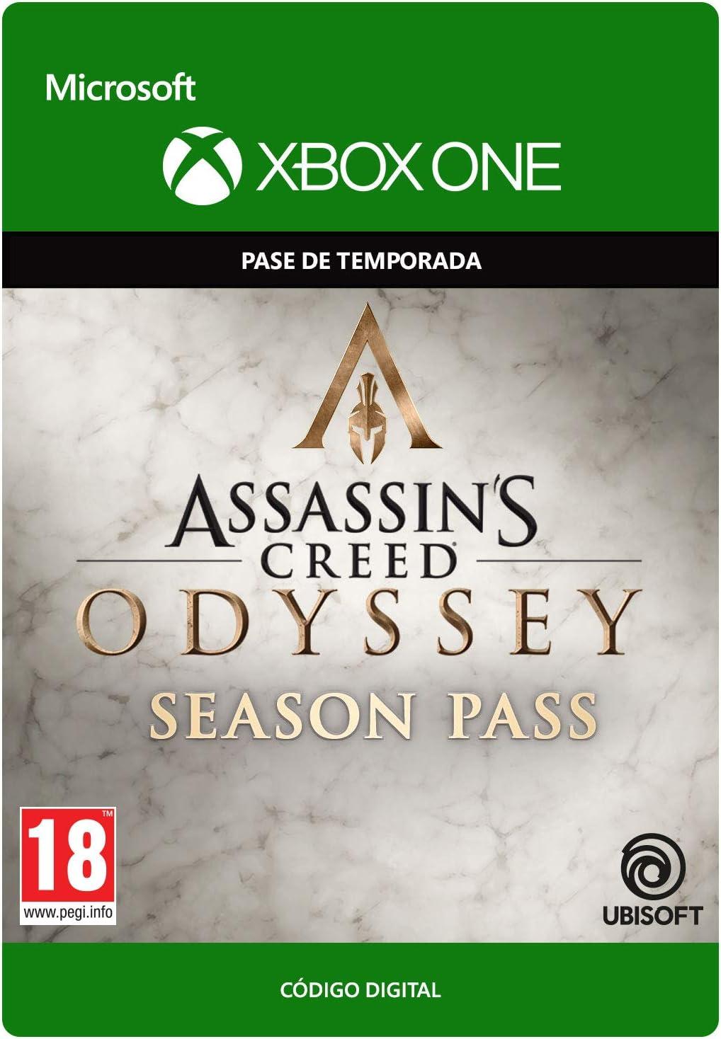 Assassins Creed Odyssey: Season Pass - Xbox One - Código de descarga: Amazon.es: Videojuegos