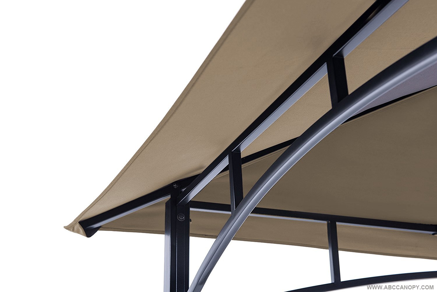 ABCCANOPY Grill Shelter Replacement Canopy roof for Model L-GZ238PST-11 (Beige) by ABCCANOPY (Image #4)