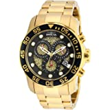 Invicta Men's 19837SYB Pro Diver 18k Gold...