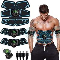 SHENGMI Electroestimulador Muscular, Abdominales Cinturón, Estimulador Muscular Abdominales, ABS Estimulador Muscular…