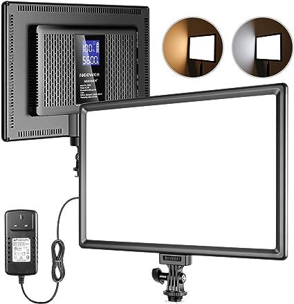 Neewer Ultradünnes 192 Led Video Lichtpanel Mit Kamera