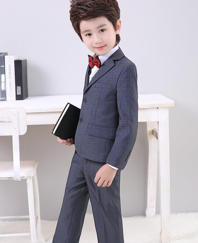 Amazon.com: Boys suits dress wear tuxedo trajes de bodas ...