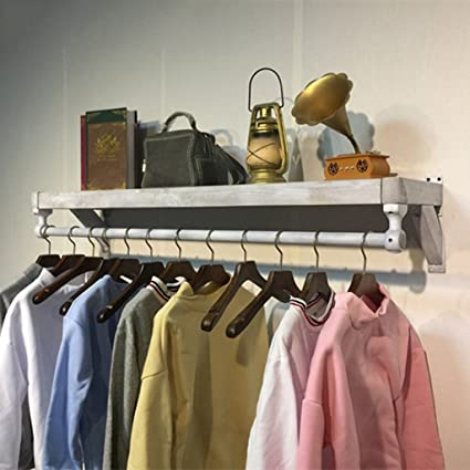 Amazon.com: COAT RACK Mano Home Solid Wood Wall Mounted ...
