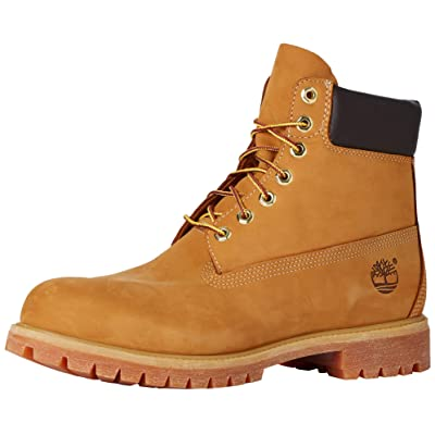 "SHOES Men's Classic 6"" Premium Boot, Wheat Nubuck, 7 M US | Boots"
