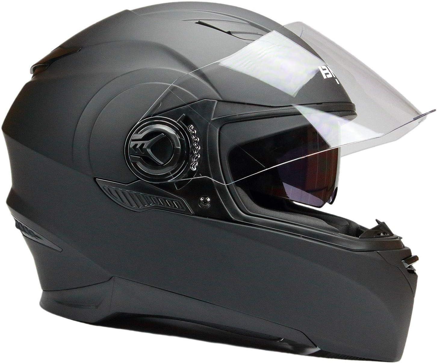 Bno Integralhelm Roller Helm Motorradhelm H5112 Mit Sonnenblende L Auto