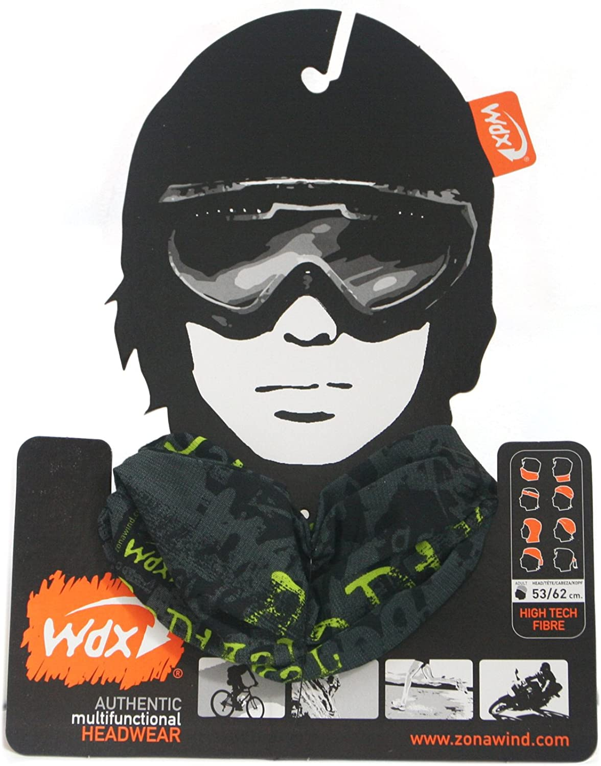 Drytex UV Protection Wind x-treme Barcelona Coolwind Odor Free Headwear Bandana Moisture Control Flexible and Seamless