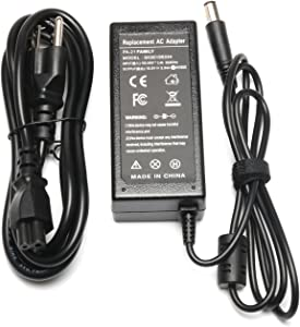 19.5V 3.34A 65W Octagon Tip AC Charger Replacement for Dell Inspiron 1318 1440 1545 1546 1551 1557 1750; Dell XPS M1330; PA-21 PP41L XK850 LA65NS2-00 PA-1650-02DW Laptop AC Adapter Power Supply Cord
