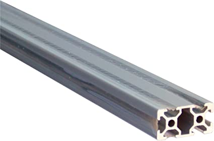 Type B 20 x 20 mm Profil/é en aluminium