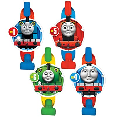 """Amscan 331752""""Thomas All Aboard"""" Blowouts, Party Favor, Multicolor: Toys & Games"""