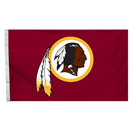301ebd5adf1 Amazon.com   NFL Washington Redskins Logo Flag with Grommets