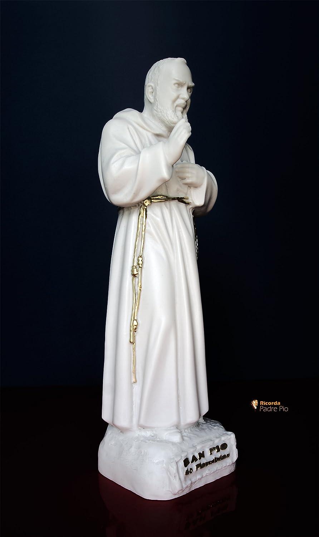 Statua Padre Pio cm30 in resina