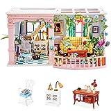 Rolife Tiny House Dollhouse Kit Miniatures Sweet Patio